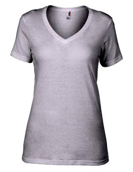 Women´s Featherweight V-Neck Tee