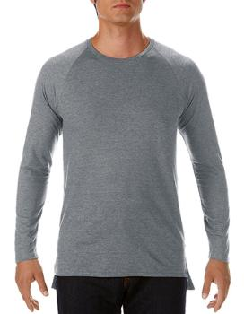 Fashion Basic Long & Lean Raglan Long Sleeve Tee