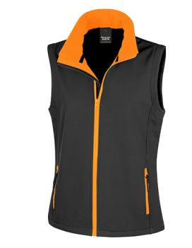 Ladies Printable Soft Shell Bodywarmer